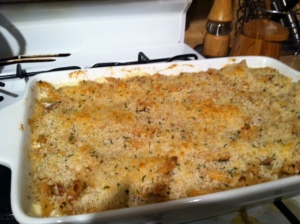 Voila! Cheesy Bacony goodness!